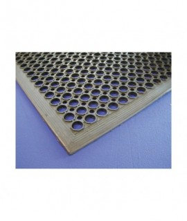 Black Rubber Kitchen Mat 90 x 150 x 1.4cm