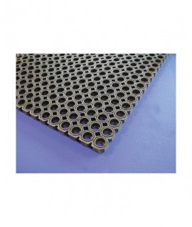 Black Rubber Kitchen Mat 100 x 150 x 2.3cm