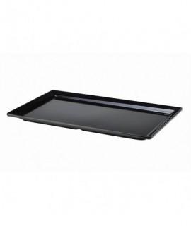 Black Melamine Platter GN FULL SIZE Size 53 X 32cm