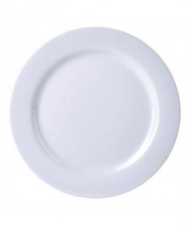 """Genware 9"""" Melamine Dinner Plate White"""