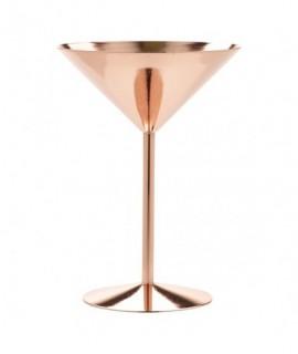 Copper Martini Glass 24cl/8.5oz