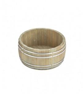 Miniature Wooden Barrel 16.5x 8cm