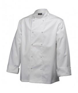 Basic Stud Jacket (Long Sleeve)White L Size