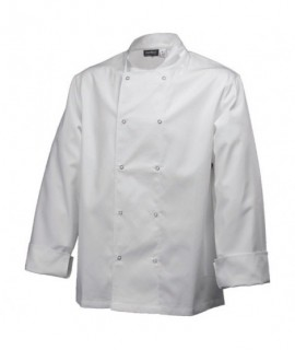 Basic Stud Jacket (Long Sleeve)White Xs Size