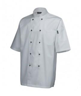 Superior Jacket (Short Sleeve) White M Size
