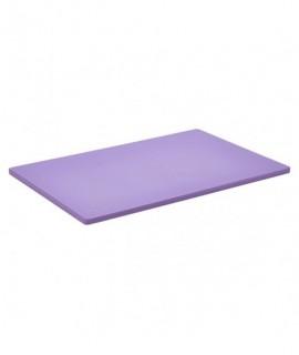 """Purple Poly Cutting Board 18 X 12 X 0.5"""""""