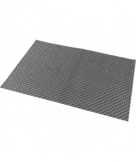 Placemat Silver 45 x 30cm PVC