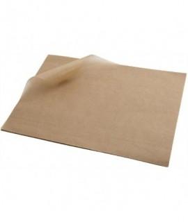 Greaseproof Paper Brown 25 x 20cm