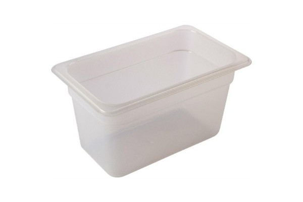 FULL SIZE -Polypropylene GN Pan 150mm Clear