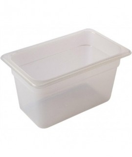 1/4 -Polypropylene GN Pan 100mm Clear