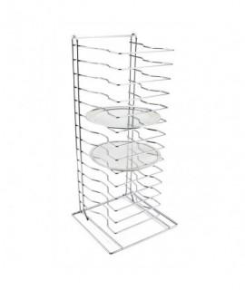 Genware Pizza Rack/Stand 15 Shelf