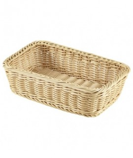 Polywicker Display Basket GN 1/4