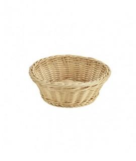 Round Polywicker Basket 21x 8cm