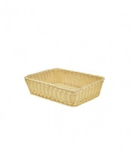 Polywicker Display Basket 36.5X29X9cm