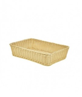 Polywicker Display Basket 46X31X10cm