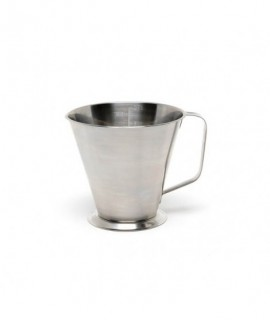 Stainless Steel Graduated Jug 0.5L/1Pt.