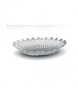"""Stainless Steel Oval Basket 11.3/4""""X9.1/4"""""""