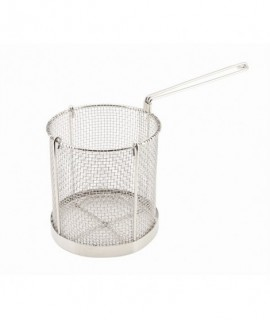 Genware Stainless Steel Spaghetti Basket 15cm Dia x 16cm