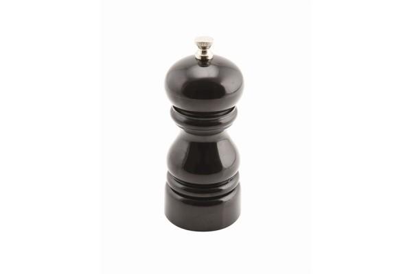 Genware Salt Or Pepper Grinder Black 12.7cm
