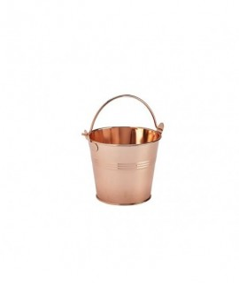 Stainless Steel Serving Bucket 10cm Copper
