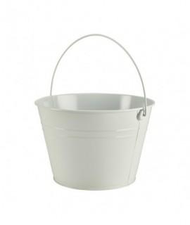 Stainless Steel Serving Bucket 25cm White