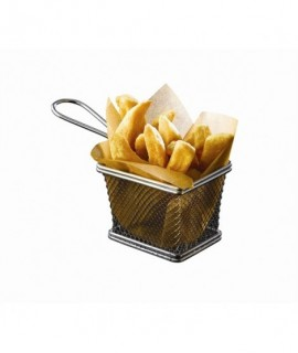 Serving Fry Basket Rectangular 12.5 X 10 X 8.5cm