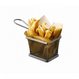 Stainless Steel Serving Baskets
