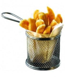Serving Fry Basket Round 9.3 X 9cm