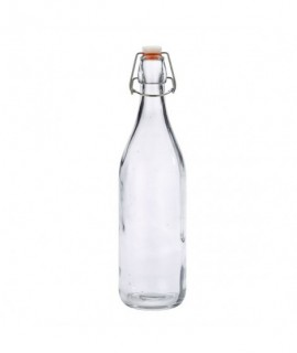 Genware Glass Swing Bottle 1L / 35oz