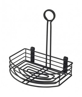 Black Wire Table Caddy 8.5 x 6 x 9 (H)