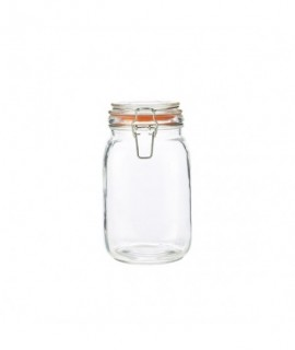 Genware Glass Terrine Jar 1.5L