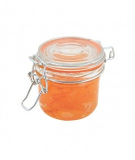 Genware Glass Terrine Jar 200ml 8.2 x 8.1cm