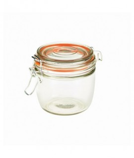 Genware Glass Terrine Jar 350ml 9.5 x 9cm