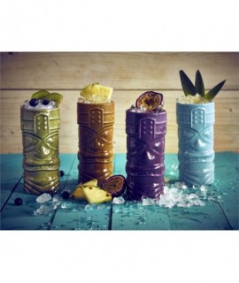 Brown Tiki Mug 40cl/14oz
