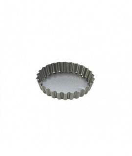 Carbon Steel Non-Stick Mini Tart Pan 10X2cm (Set of 4)