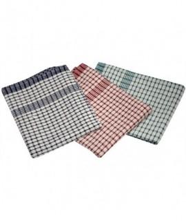 Cotton Check Ttowel 46X69cm 10Pcs Mix Colours