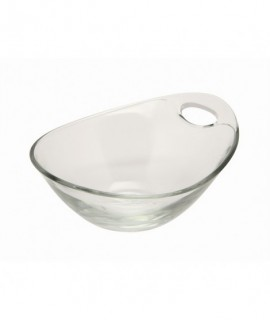 Handled Glass Bowl 14cm