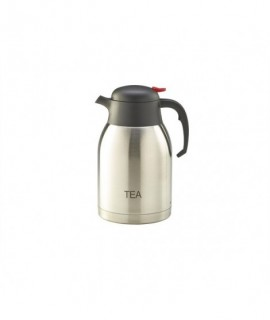 Tea Inscribed Stainless Steel Vacuum Jug 2.0L