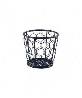 Black Wire Basket 10cm