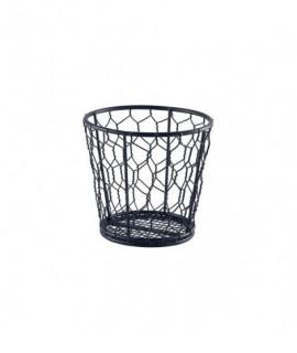 Black Wire Basket 12cm