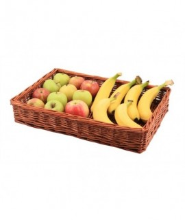 Wicker Display Basket 46X30X8cm