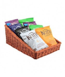 Wicker Display Basket 46X36X20cm - 7cm Front