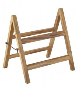 Acacia Wood Display Stand 38x30x40cm