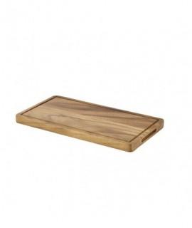 Genware Acacia Wood Serving Board GN 1/3