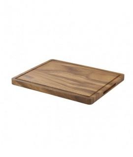 Genware Acacia Wood Serving Board GN 1/2