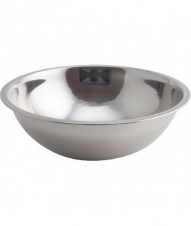 Genware Mixing Bowl Stainless Steel 3 Litre