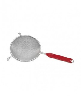 """8""""Bowl Strainer Nickel Plated Double Mesh"""