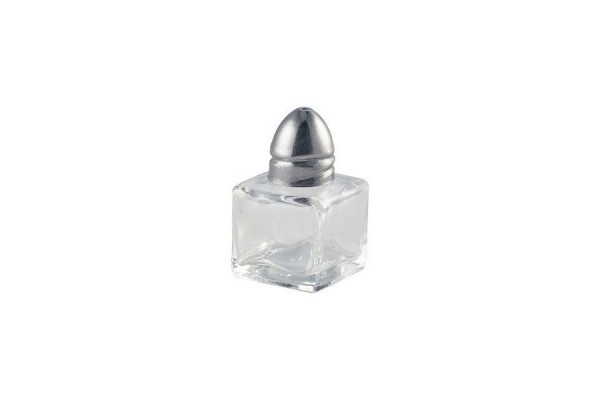 Individual Glass Salt Pot 20 x 20 x 55mm