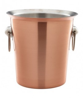 Copper Wine Bucket With Ring Handles