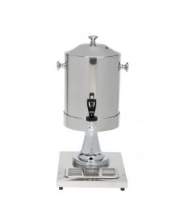 Genware Milk Dispenser With Ice Chamber